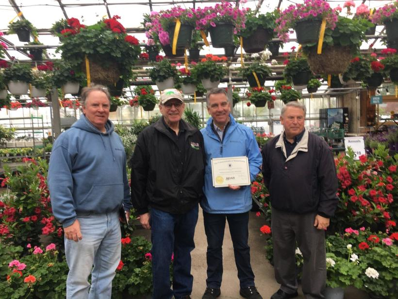 MDAR Commissioner Lebeaux Visits Flower Greenhouse Growers